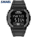 Watch Electronic Watches Factory Wholesale SMAEL Watch 1801 Multifunctional Digital Electronic Mens Watches