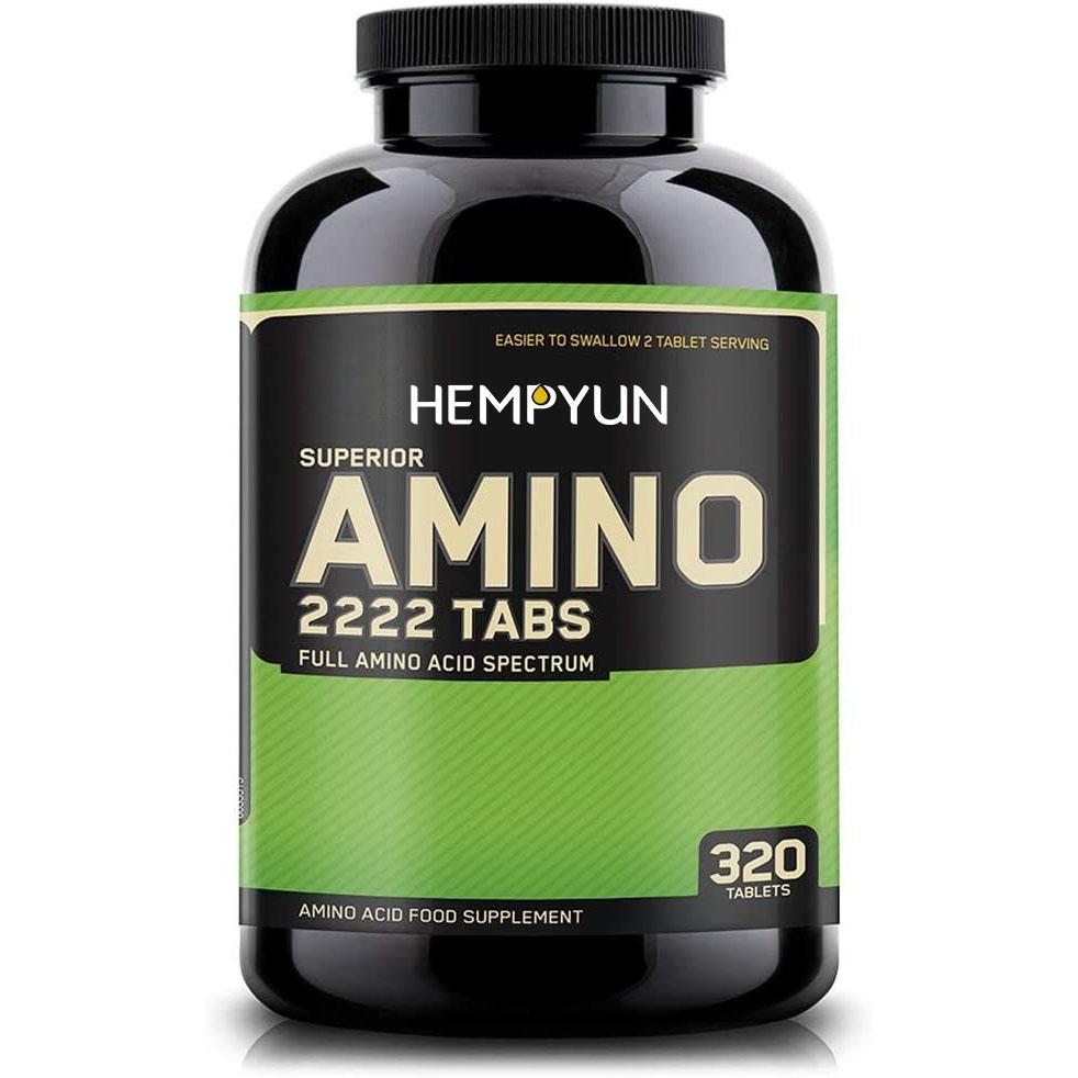 Оптимальное питание, превосходные аминокислоты 2222 в таблетках, полные незаменимые аминокислоты, EAAs, 320 шт.