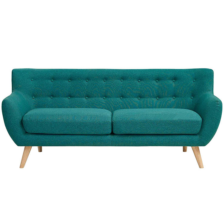 Nordic light luxury small family cloth art simple postmodern minimalist style cloth art   sofa