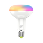 Wireless Wifi Color Changeable Remote Control E27 RGB electric smart headlight LED light bulb