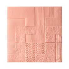 3D стерео наклейки на стену, самоклеющиеся обои для спальни, водонепроницаемые креативные сетевые красные настенные украшения, скандинавск...(Китай)