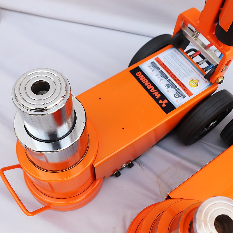 China sale  high quality 30/50/60/80/100 ton air hydraulic truck jack for truck repair