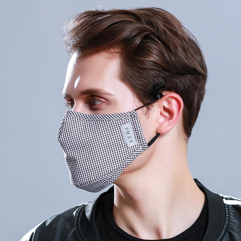 2021 велосипедный праздничный подарок Вечеринка PM2.5 с активированным углем для мужчин и женщин осенне-зимняя маска из чистого хлопка для лица