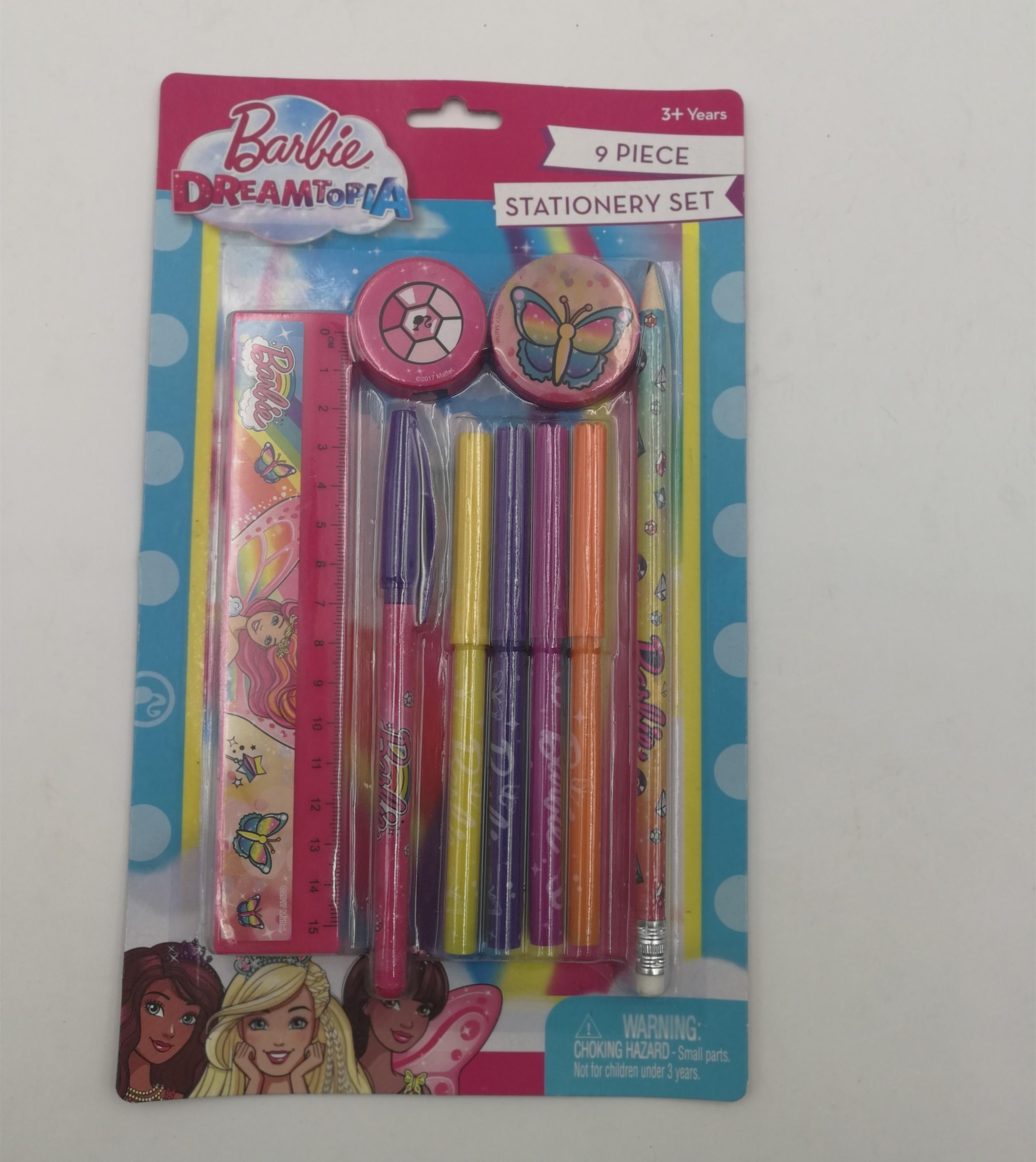 Дети мультфильм Канцелярские тетрадь с 6 видов цветов шариковая ручка