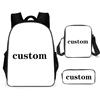 custom bagpack school bag girls