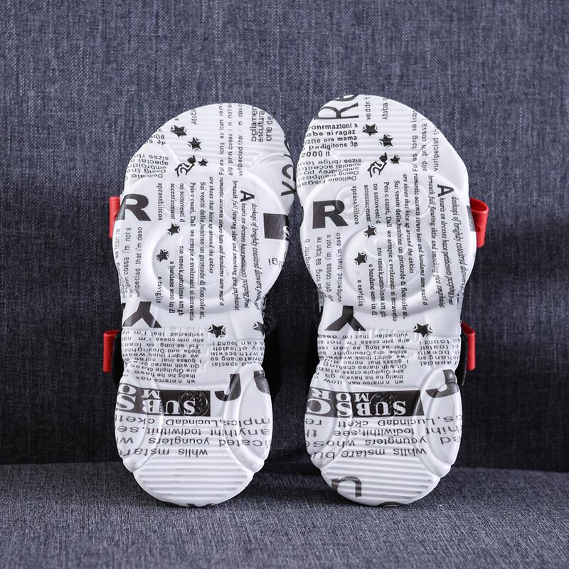 Низкий минимальный заказ, оптовая продажа, прочные уличные спортивные сандалии для мальчиков с удобным дизайном