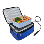 lunch heating Box Car Portable Oven Lunch Warmer Personal Heating Lunch Box for Reheating Meals Raw Food Cooking Cooler bag