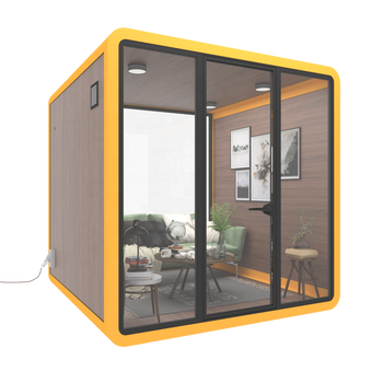 Tiny cell phone booth prefab house office use modular house phone booth for sale container home