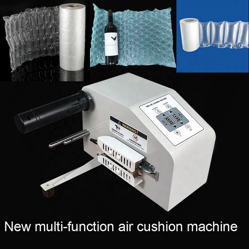 Заводская Лучшая цена, высокоскоростная Настраиваемая мини-машина для воздушных подушек, пузырьковая пленка, рулонные упаковочные материалы