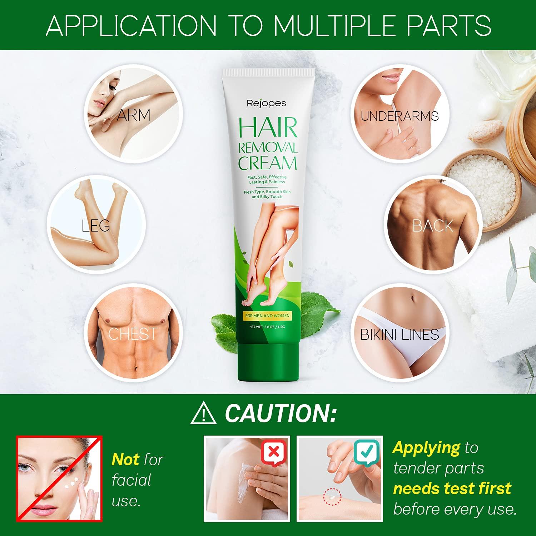 OEM Painless Depilatory Legs Depilation Armpit Legs hair removal cream  Private label hair remove cream