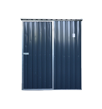 SUE 6x3 Widely used and popular style flat roof metal outdoor storage shed and garden shed