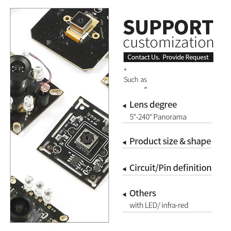 Оптовая продажа, модуль камеры видеонаблюдения 4k для Sony IMX415, модуль камеры ночного видения Starlight 4K HD USB