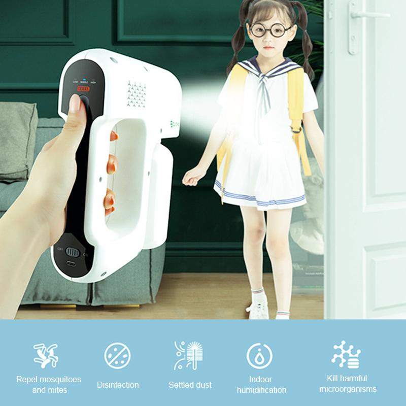 ULV Cold Fogger Portable Electric Hospital Disinfection Sprayer Power Tank Pump Plastic Garden Nano Steam Spray Gun