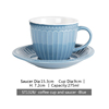 ST1328/cup and saucer blue
