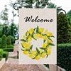 Welcome Lemon flag