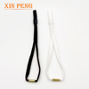 Black elastic band with tube stopper