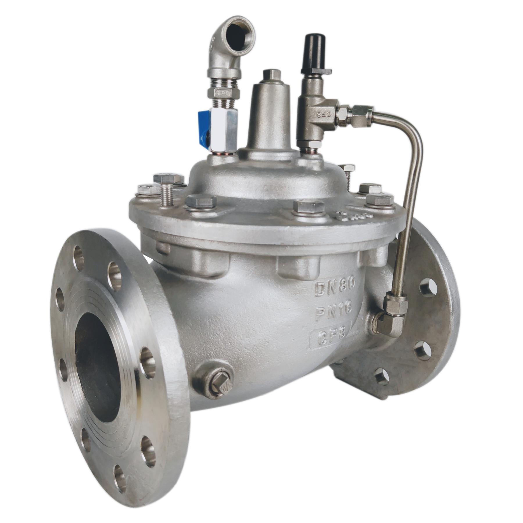 diaphragm constant control valve bonnet seat,disc neumatic control valve with positioner,globe control pressure relief valve