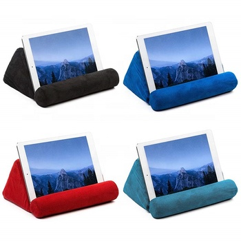 Adjustable For Iphone Ipad Book Lap Soft Cell Mobile Phone Stand Tablet Pillow Holder
