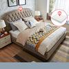 Brown (1.8*2.0m bed+mattress)-LS01ZHR270048