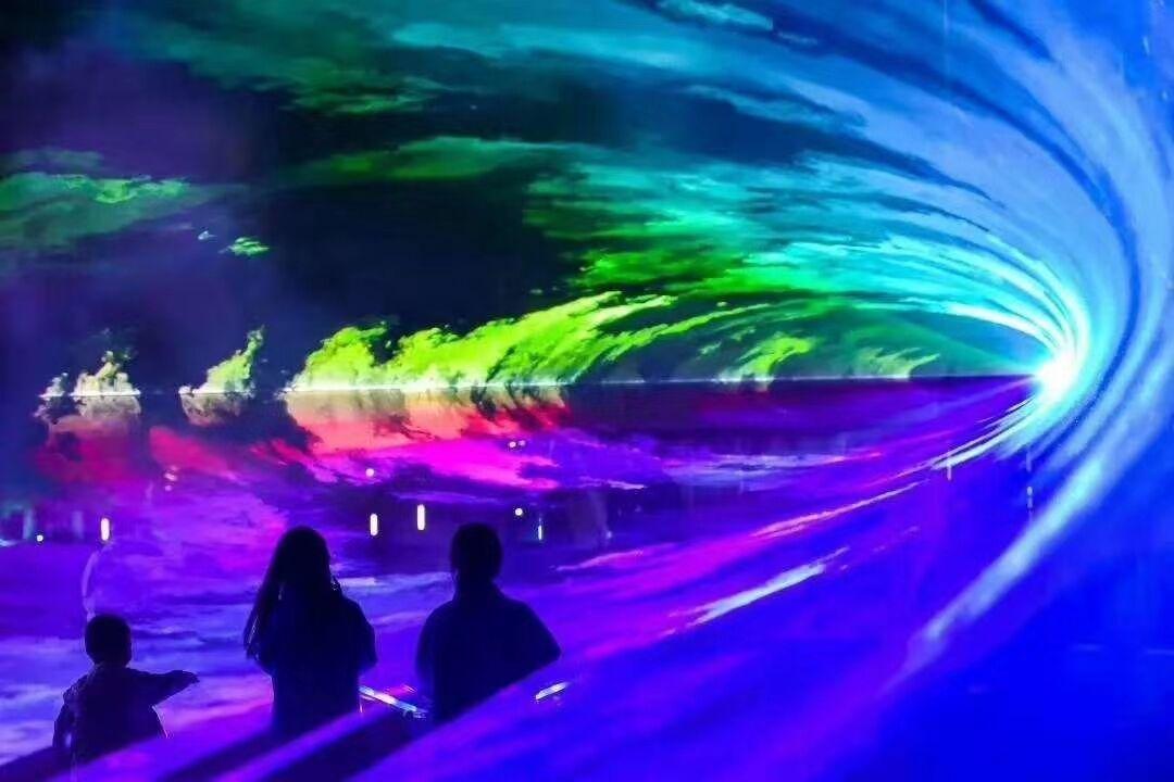 Christmas DJ Outdoor Projector 30W RGB Animation Landmark Sky Beam Stage Laser Light