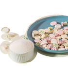 Candy Chinese Supplier Original Flavor Snack Foods Round Shape Milk Candy