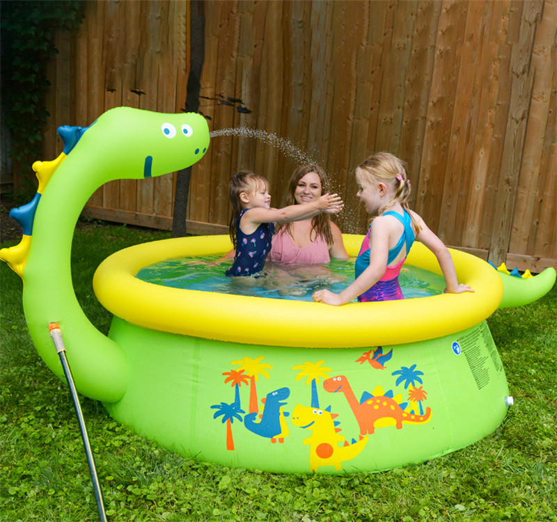 Inflatable Swimming Pool Outdoor Family Inflatable Pool Water Park for Child