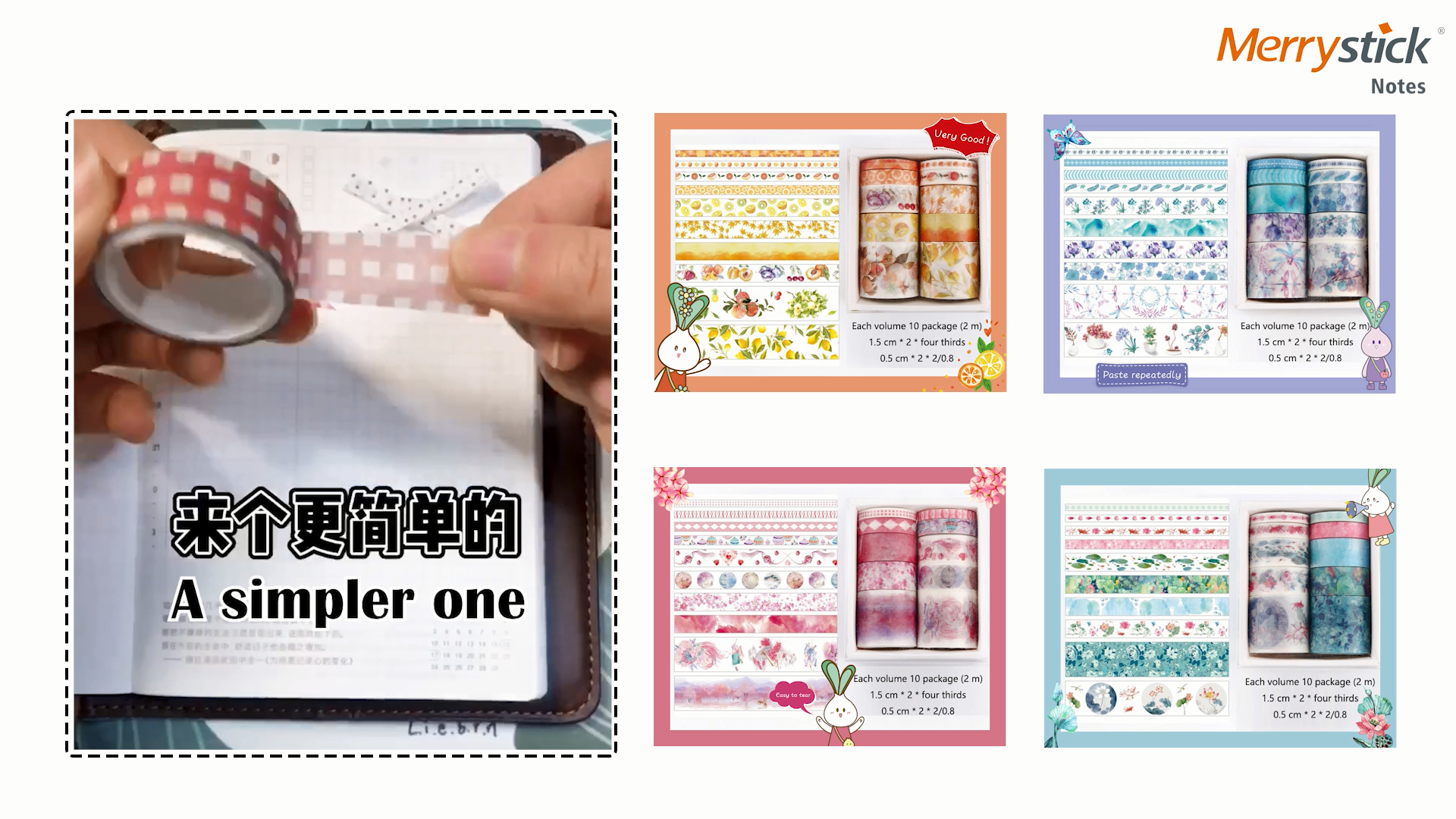 Custom Washi Sticker Masking Papier Tape Set, 2020 Leuke Designjapanese Papier Masking Washi Tape