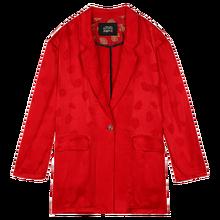 ELFSACK красный однотонное однобортное пальто шикарная на пуговицах Блейзер на каждый день женские куртки 2020 осень эльф в винтажном стиле; В Ко...(Китай)