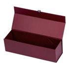 Wine Packing Material Cardboard Gift Box Newly Designed And Customized Luxury Cardboard Paper Magnetic Sublimation Single Bottle Red Wine Gift Box