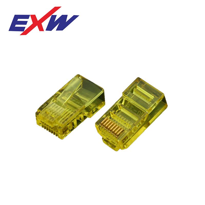 Best Seller Cat5E 8P8C UTP EZ RJ11 RJ45 Connector wire quick male connector