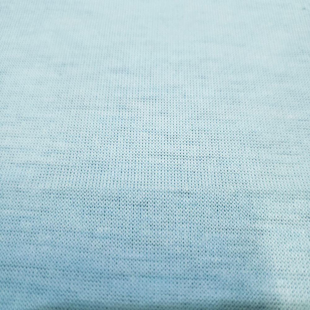 Free Sample Colored Cotton Polyester Spandex Single Jersey Knit Fabric For T Shirt