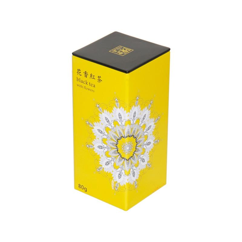 green tea tin wholesale tea container metal tea storage box square high quality can