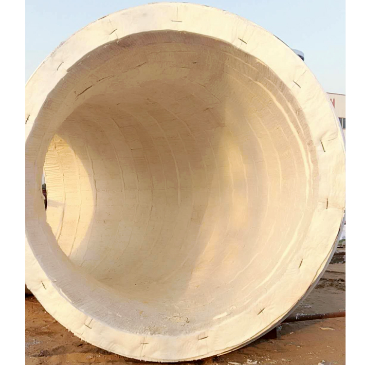 Aluminum silicate 1430 ceramic fiber module for insulation and fire protection of high temperature equipment