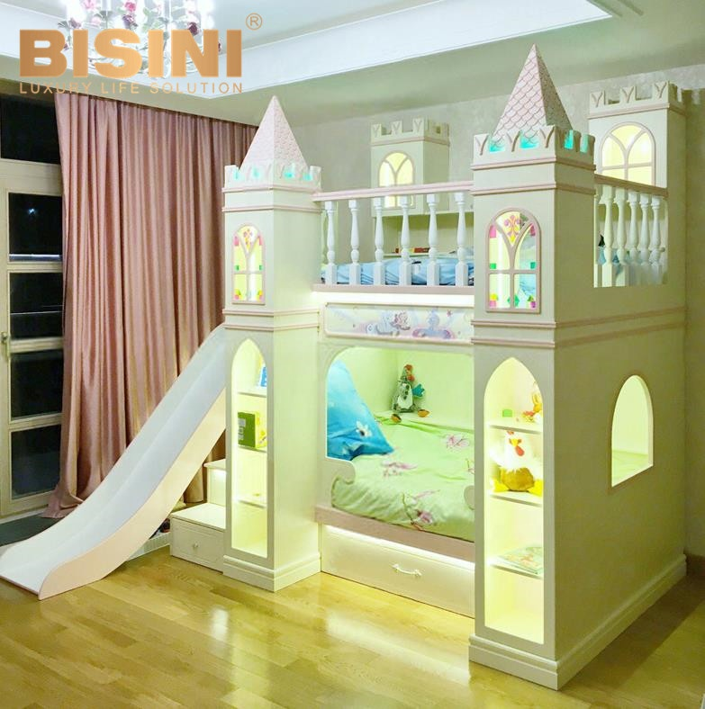 Solid Wood King S Castle Bed Customized Colorful Kids Bunk Bed With Stair For Boys And Girls Buy King S Castle Bed Customized Colorful Kids Bunk Bed Girls Castle Bed With Stair Product On Alibaba Com