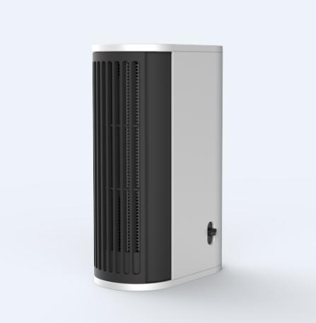 500W mini Living Solutions Portable heater with EU/US/UK plug
