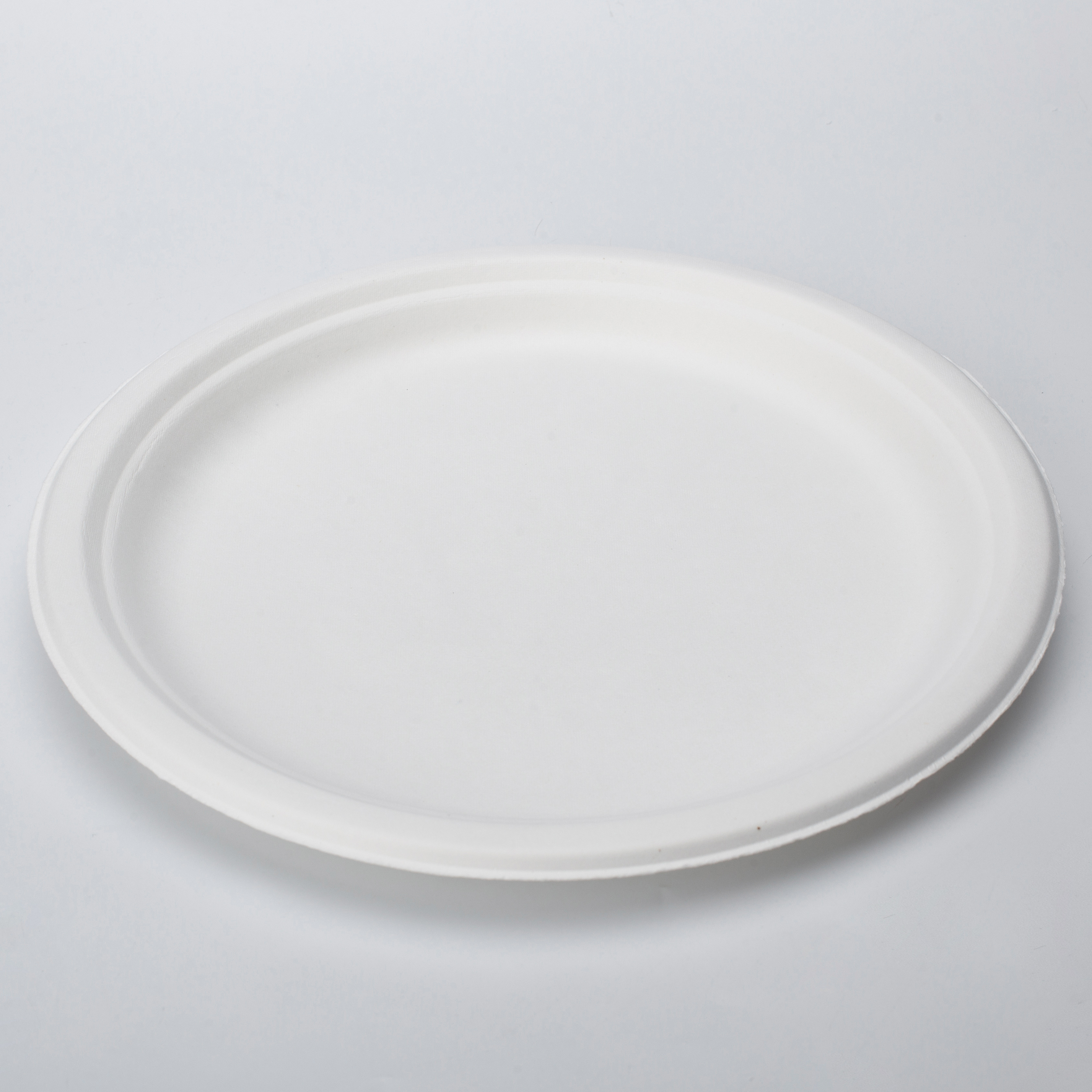 Eco friendly party heavy weight cutlery sugarcane pulp Biodegradable Tableware Disposable Dinnerware Sets 9 inch bagasse plates