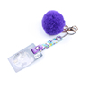 Purple grabber+pom ball