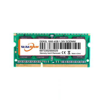 Notebook RAM 4GB PC3L-12800 DDR3L 1600MHz Laptop Memory SODIMM 204pin OEM Available