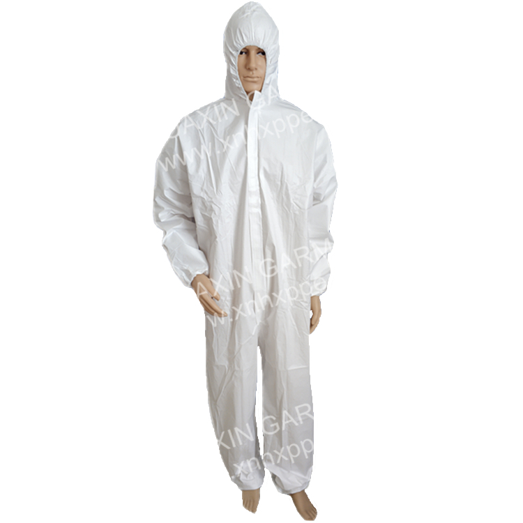 Disposable Body Suit Overall With Hood - KingCare | KingCare.net