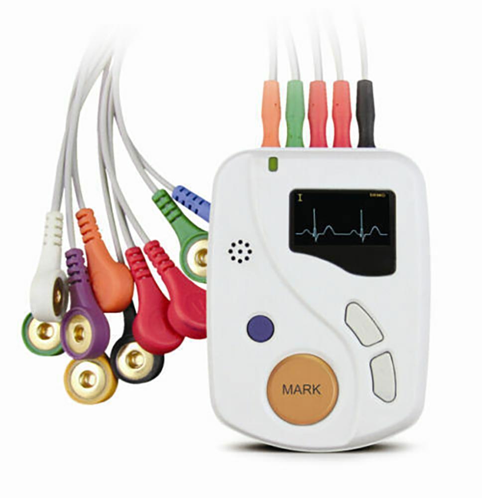 TLC6000 Contec 48h Record &Analysis,Dynamic ECG holter 12--Channel EKG machine