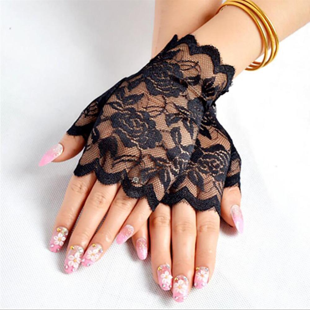 Лидер продаж, длинные женские сексуальные кружевные рукавицы с открытыми пальцами Сейлор-танец, женские ажурные рукавицы с открытыми пальцами, сетчатые рукавицы с подогревом, Handschoenen