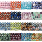 Gemstone Beads Luyao High Quality Natural Gemstone 4/ 6/8/10 MM Multiple Styles Stone Beads For Women And Men Jewelry Making