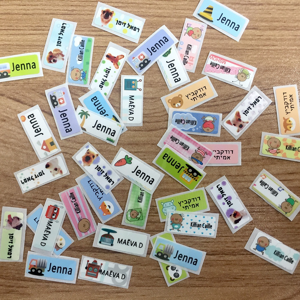 Waterproof Personalized Labels School Stationery Children Name Tag Sticker