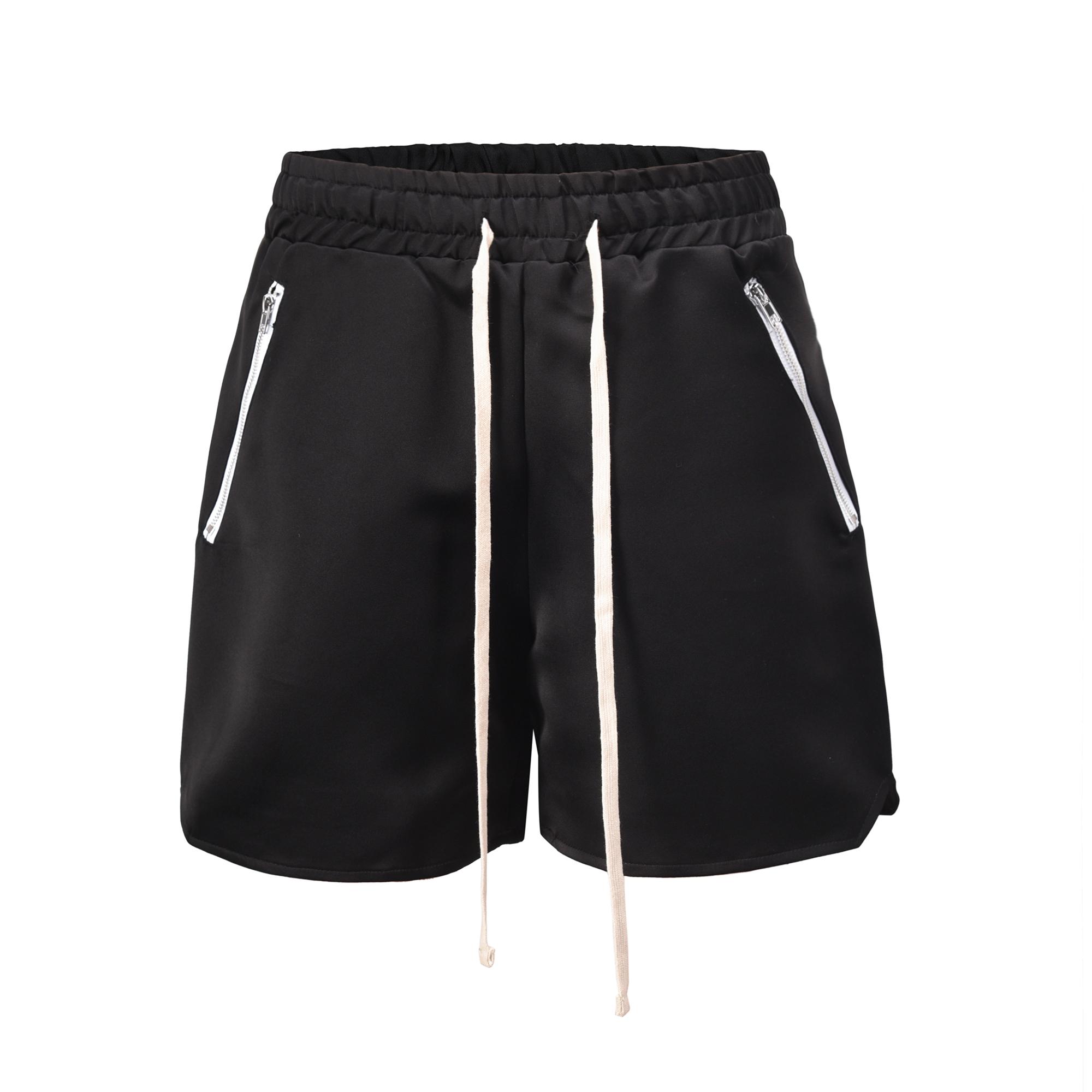 OEM Shorts Long Drawstring dropshipping FOG men nylon cargo shorts black short pants men