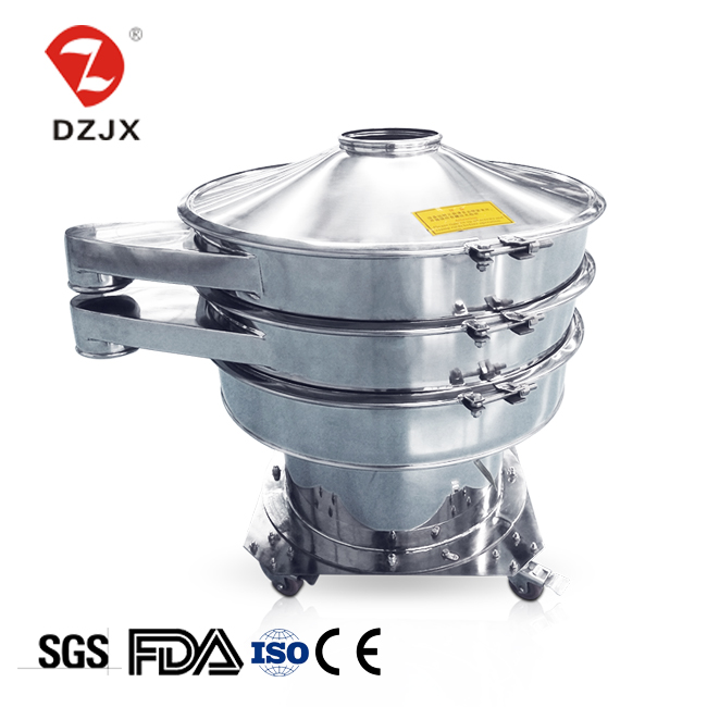 Factory price direct homemade high frequency wheat flour vibrating screen sieve machine