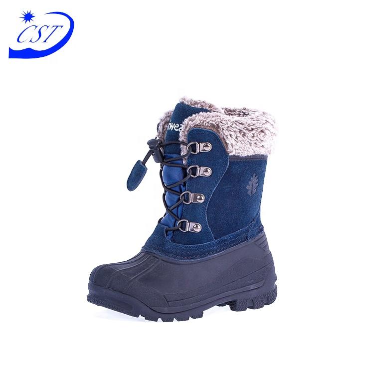 Хорошо проданный товар безопасности для детей, зимняя обувь для детей, зимние сапоги