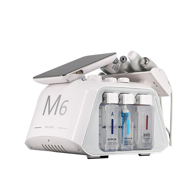 CASMB 2021 6 In 1 M6 A New Generation Of Skin Management Equipment No Needle Mesotherapy Machine
