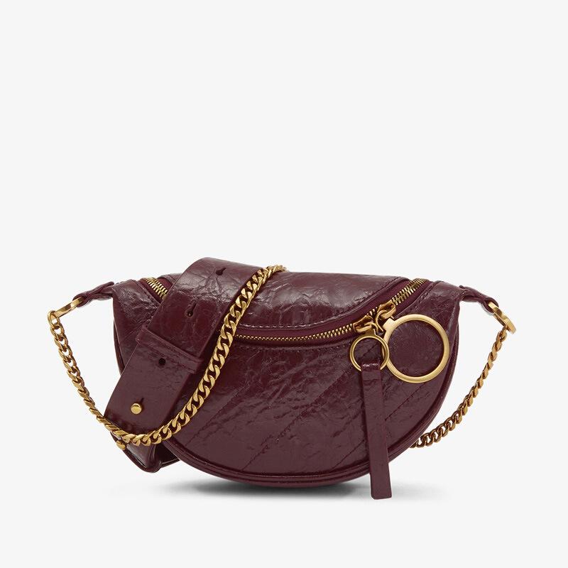 Boshiho Brand design High quality fashion chain waist shoulder chest bag handbag customized logo factory