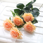Flower Rose Flowers Artificial FREE SAMPLE Wedding Decoration Real Touch Latex Artificial Roses Flower Arrangement