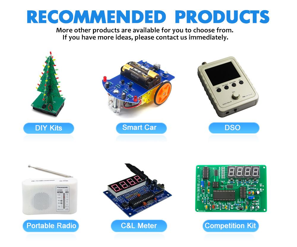 Seven Tube Mini Cube Cheap Portable AM/FM Radio DIY Electronic Kits Production